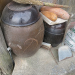 Monika wished she could have brought one of these pots home - without kimchi!