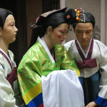 In traditional Korean society, marriage is considered a major life event and the character of marriage is treated as a union of two households and clans rather than the marriage of two individuals.