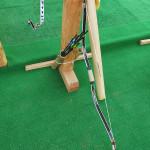 The unique design of the Korean bow has the power of a modern compound bow. We can presume that its compact size and lightness came from the need to ride at full gallop and shoot with deadly accuracy.