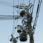 As modern as Japan is, we did question some of their electrical wiring.