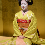 The beautiful professional geishas are highly respected traditional Japanese female entertainers who act as hostesses.