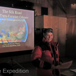 Our PowerPoint presentation of the Trans-Eurasian Odyssey, following the Silk Road was a big success with many people complimenting us after the show.