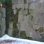 The walls surrounding the Kanazawa Castle Park showed the amazing rock work that reminded us of things we had seen in Peru.
