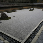 The internationally famous Rock Garden was created by a highly respected Zen monk named Tokuho Zenketsu around 1500.