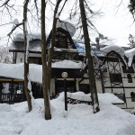 Our Pension Ratanrirun, outside Hakuba was a comfortable place to stay.