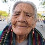 Mexican women age beautifully. This old lady wanted to have her picture taken.....