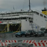 The overnight ferry from Pireus to Iraklion, Crete was the only way to arrive with our truck.