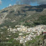 Inviting towns were an interesting contrast to the rocky hillsides and the olive groves.