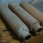 Dion was modern for its time with running water and sewage. Some of the original clay pipes had been unearthed.