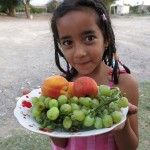 This young girl in Uzbekistan offered us fruit as a welcome. A feeling we would appreciate throughout the Stans.