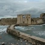 It was a shame to see wonderful castles and fortresses built to protect ancient rulers crumble into the sea.