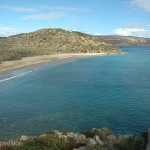 The beautiful beaches and turquoise waters of Crete always tempted us to spend another day.