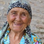 Sparking faces of women like this young lady in Uzbekistan always brightened our day.