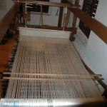 The old looms in the new Art of Silk Museum in the town of Soufli were beautifully displayed.