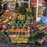 Shopping for fruit and veggies in the small street stands and little grocery stores was a joy.