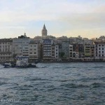 The Golden Horn is a major urban waterway and the primary inlet of the Bosporus.