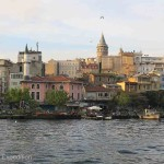 The Galata Tower, built by the Genoese in 1348, is one of the city's most striking landmarks.