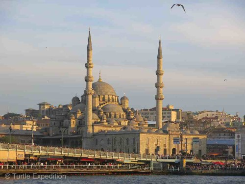 "Only in Istanbul would a 400-year old mosque be called ""New""."
