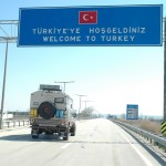 The empty highway was an illusion. We would soon enter the mayhem of Istanbul.