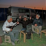 A hot cup of tea and a little music on the side of the road were our first impressions of Turkish hospitality.
