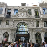 Many of the old buildings in downtown Istanbul retained their historic elegance.