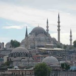 The Süleymaniye Mosque is one of the more beautiful images of Istanbul.