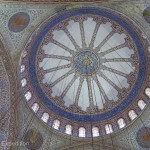 The interior and details of the Blue Mosque was entrancing.
