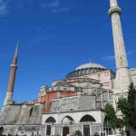 The Aya Sophia, now a museum, stood as the largest cathedral in the world for one thousand years.