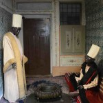 This small room with mannequins showed the lifestyle and dress of the black Eunuchs, servants in the Harem.