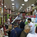 Small dry good stores sold olive oils and other specialty items.