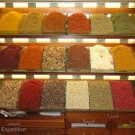 The combination of aromas in the Spice Market stalls were as tantalizing as the selection.