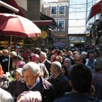 Everywhere in the Grand Bazaar and the Spice Market the crowds were elbow to elbow. We needed to keep a sharp eye out for pickpockets.