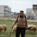 Locals herd their flocks of sheep when not digging for meerschaum.
