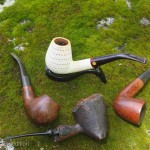 Briar and meerschaum are the favorite of pipe enthusiasts.
