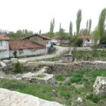 The ruins of the Zeus Temple, amphitheater and Roman baths were literally in people's backyards.