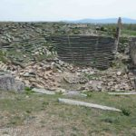 The enormous amphitheater, one of the largest in Turkey, had been the victim of earthquakes and time.