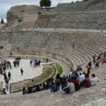 The Great Theater had a capacity of 25,000 people.
