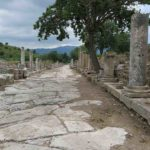 Harbor Street lead to the port of Ephesus.