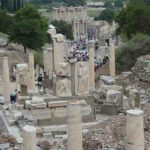 The Curetes Way lead down to the famous Library of Celsus.