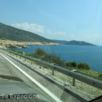 Heading south toward Kaş, the highway offered panoramic views of the Mediterranean.