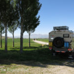 Driving through the farmland on our way to Konya we easily found wild camping on side roads.