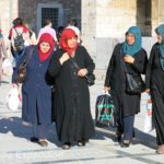 Konya is one of the most devote Muslim cities in Turkey. Women dress accordingly.