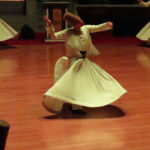 The dance of the Whirling Dervishes in Konya represent a spiritual journey,