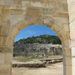 The jewel of Patara is the giant amphitheater.