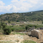 In the distance we could see the triple vaulted triumphal arch that has become the symbol of Patara.