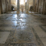 Many of the floors in the church are made of opus sextile, an art technique popularized in the ancient and medieval Roman world.
