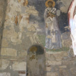Wall paintings in the burial chamber of the church dating to the 12th century contain 15 scenes in the life of St. Nicholas.