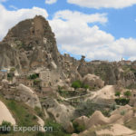 Over 1,700 years ago, people of today's Göreme district discovered that the soft rock could easily be carved into houses, churches and monasteries.