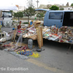 This small van offered an amazingly complete portable hardware store.