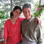 Monika and Sabina Inal, the manager of the Köse Pension in Göreme, posed for a final good-bye photo.